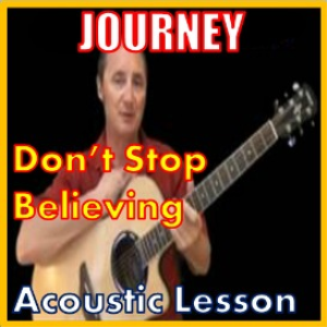 learn to play dont stop believin by journey