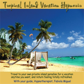 tropical island vacation hypnosis with binaural beats