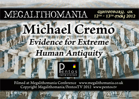 michael cremo - evidence of extreme human antiquity - megalithomania mp3