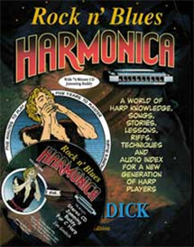 revised, rock n' blues harmonica e-book and cd