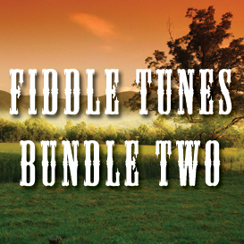 fiddle tunes bundle two - full tempo backing tracks