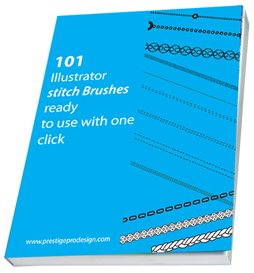 101 Illustrator Stitch Brushes | eBooks | Beauty