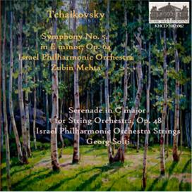 tchaikovsky: sym. no. 5; serenade for strings