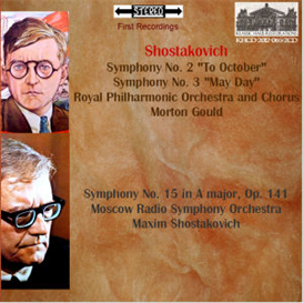 Shostakovich: Symphonies No. 2, 3 & 15 | Music | Classical