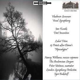 Sommer: Vocal Symphony/Klusák: First Invention/Fišer: 15 Prints | Music | Classical