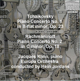 tchaikovsky: concerto no. 1 for piano and orchestra/rachmaninoff: concerto no. 2 for piano and orchestra - jacques klein, piano; europa orchestra/hein jordans