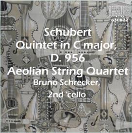 schubert: quintet in c d 956 - aeolian string quartet/bruno schrecker, second 'cello