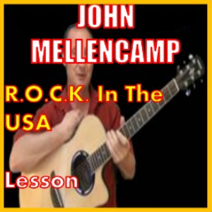 learn to play rock in the usa by john mellencamp