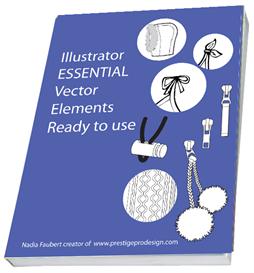 40 pages illustrator essential of 1000 novelty & embellishment