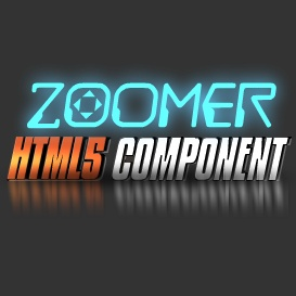 Zoomer HTML5 Component | Software | Design Templates