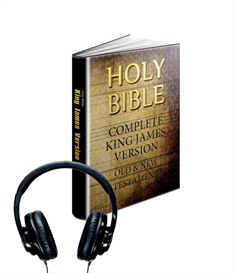 the authorized king james holy bible -(audio-book)