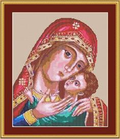 Byzantine Madonna Cross Stitch Pattern | Other Files | Patterns and Templates