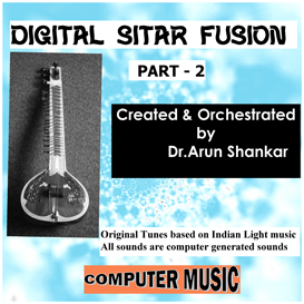 digital sitar fusion music