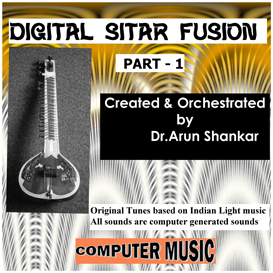 digital sitar fusion music - part - 1