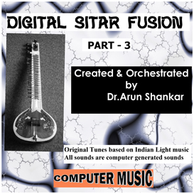 digital sitar fusion music part - 3