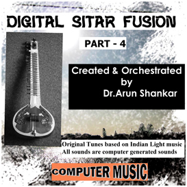 digital sitar fusion music part - 4