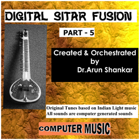 digital sitar fusion music part - 5
