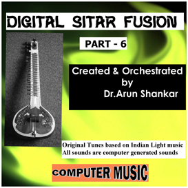 digital sitar fusion music part - 6