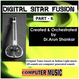 digital sitar fusion music part - 6