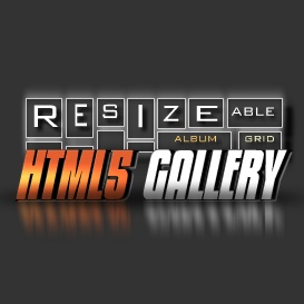 HTML5 Resizeable Grid Album Gallery | Software | Design Templates