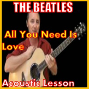 learn to play all you need is love by the beatles