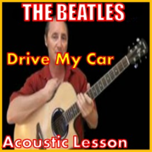 learn to play drive my car by the beatles