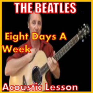 learn to play eight days a week by the beatles