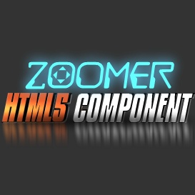 Zoomer HTML5 Component - Developer License | Software | Design Templates