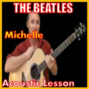 learn to play michelle by the beatles