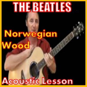 learn to play norwegian wood by the beatles