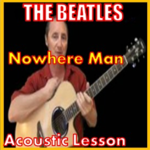 learn to play nowhere man by the beatles