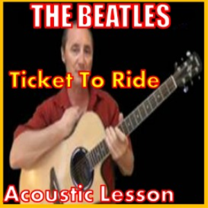 learn to play ticket to ride by the beatles