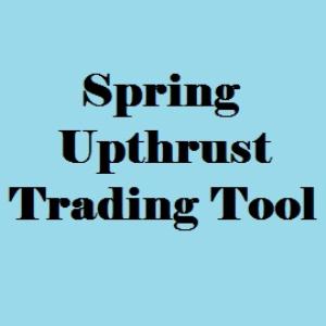 spring/upthrust trading tool