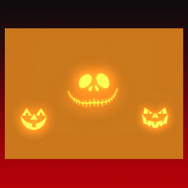 nightmare singing pumpkins orange (no sound)