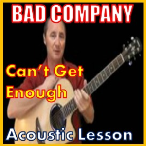 learn to play cant get enough by bad company