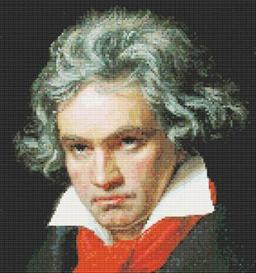 beethoven cross stitch pattern