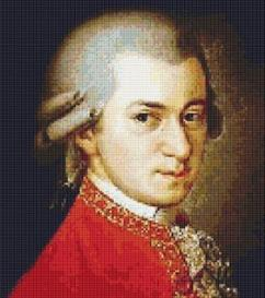 mozart cross stitch pattern