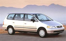 1997 honda odyssey mvma specifications