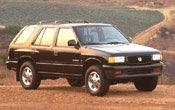 1997 Honda Passport MVMA Specifications | Other Files | Documents and Forms