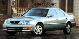 1998 acura 2.5tl mvma specifications