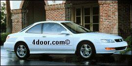1998 acura 3.0cl mvma specifications