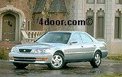 1998 acura 3.2tl mvma specifications
