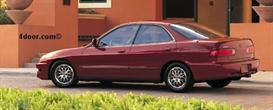 1998 acura integra mvma specifications