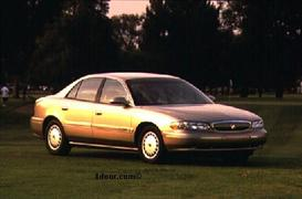 1998 buick century mvma specifications