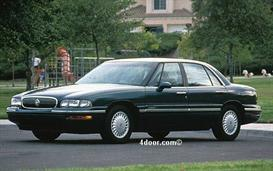 1998 buick lesabre mvma specifications