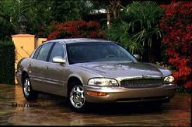 1998 buick park avenue mvma specifications
