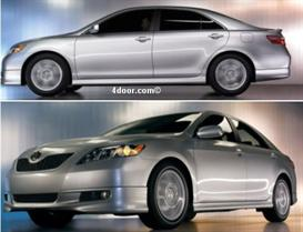 2007 toyota camry mvma specifications