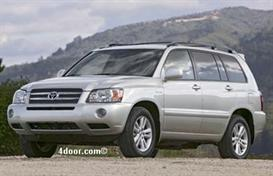 2007 toyota highlander mvma specifications