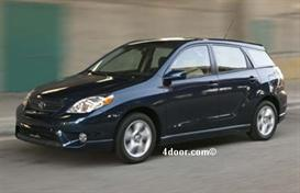 2007 toyota matrix mvma specifications