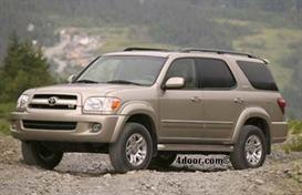 2007 toyota sequoia mvma specifications